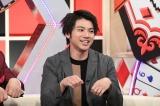 6月14日放送、テレビ朝日『金曜日のどっち?』俳優の山田裕貴が出演。バラエティー番組で恋愛エピソードを披露する(C)テレビ朝日