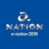 『a-nation2019』ロゴ