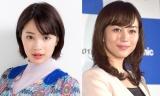 (左から)広瀬すず、比嘉愛未 photo:松ノ下聖司(広瀬)(C)ORICON NewS inc.