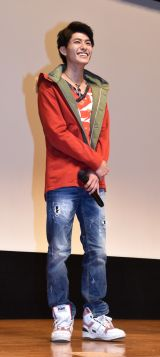 西川俊介=『4週連続スペシャル スーパー戦隊最強バトル!!』ディレクターズカット版上映イベント舞台あいさつ (C)ORICON NewS inc.