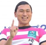 『ラグビーワールドカップ 2019』開催100日前イベントに出席したオードリー・春日俊彰