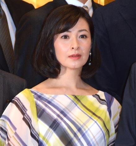 大河ドラマ『麒麟がくる』の追加出演者発表会見に出席した檀れい (C)ORICON NewS inc.