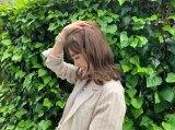 ニューヘアの茶髪姿を公開した福原遥(画像は本人ブログより)