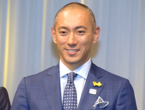 大河ドラマ『麒麟がくる』で語りを務める市川海老蔵 (C)ORICON NewS inc.