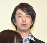 映画『GOZEN-純恋の剣-』の舞台あいさつに登壇した松本寛也 (C)ORICON NewS inc.