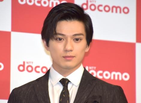 『NTTドコモ 2019夏 新サービス・新商品発表会』にゲストとして参加した新田真剣佑 (C)ORICON NewS inc.