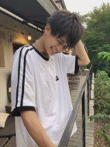 れいたぴ撮影の北出大治郎のイケメンショット(写真はれいたぴ(山田麗華)公式ブログより)