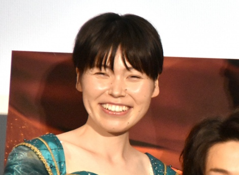 映画『アラジン』大ヒット記念イベントに登場した誠子 (C)ORICON NewS inc.