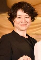 舞台『「うつつ」小松政夫の大生前葬』の記者発表会に出席したしゅはまはるみ (C)ORICON NewS inc.