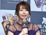 仲良しの妹について語った宇垣美里=『ブラックニッカ 3 スタイルズバー』PR発表会 (C)ORICON NewS inc.