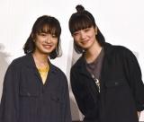再共演なら姉妹がいいと語った(左から)門脇麦、小松菜奈 (C)ORICON NewS inc.