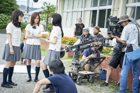 映画『町田くんの世界』のメイキングショット(C)2019 映画「町田くんの世界」製作委員会
