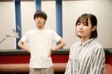 新海誠監督の最新作『天気の子』(7月19日公開)アフレコ現場の森七菜と醍醐虎汰朗