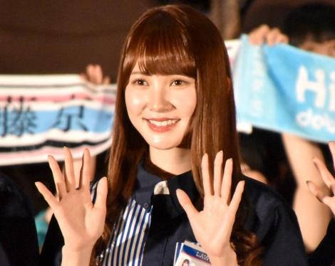 ローソン『FROZEN PARTY』商品アンバサダー就任イベントに出席した日向坂46・加藤史帆 (C)ORICON NewS inc.