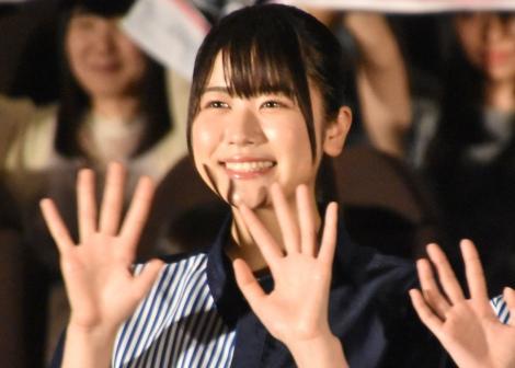 ローソン『FROZEN PARTY』商品アンバサダー就任イベントに出席した日向坂46・丹生明里 (C)ORICON NewS inc.