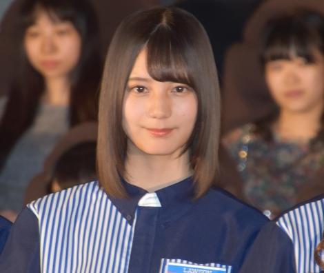 ローソン『FROZEN PARTY』商品アンバサダー就任イベントに出席した日向坂46・小坂菜緒 (C)ORICON NewS inc.