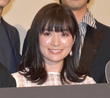 映画『GOZEN-純恋の剣-』の舞台あいさつに登壇した優希美青 (C)ORICON NewS inc.