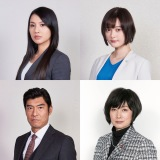 映画『AI崩壊』への出演が発表になった(左上から)芦名星、玉城ティナ、高嶋政宏、余貴美子 (C)2020「AI崩壊」製作委員会
