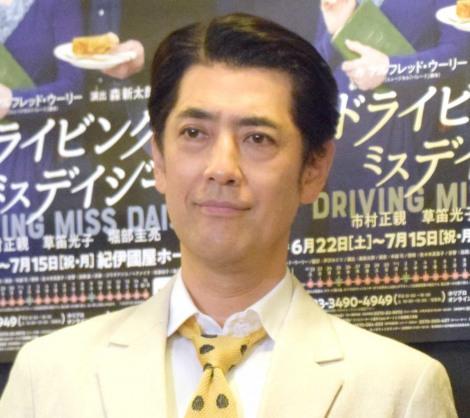 舞台『ドライビング ミス デイジー』の取材会に出席した堀部圭亮 (C)ORICON NewS inc.