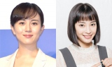 (左から)比嘉愛未、広瀬すず photo:鈴木一なり(広瀬)(C)ORICON NewS inc.