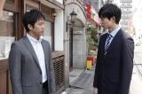 新火9ドラマ『TWO WEEKS』シーン写真(左から)三浦貴大、鈴木仁 (C)カンテレ