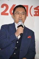 『ペット2』の日本語吹替版完成会見に出席した内藤剛志