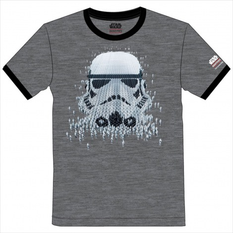 T shirt STORMTROOPER(3000円・税抜)=『スター・ウォーズアイデンティティーズ』オリジナルグッズ(C)& TM 2019 Lucasfilm Ltd. All rights reserved. Used under authorization.