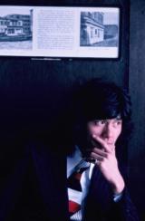 「ブーメランストリ ート」ジャケットに採用されたロンドンロケの1シーン=写真集『西城秀樹 HIDEKI FOREVER blue』より (C)中村昇