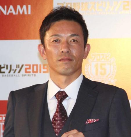『プロ野球スピリッツ2019』開幕式に出席した赤星憲広 (C)ORICON NewS inc.