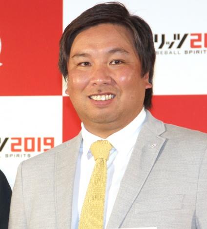 『プロ野球スピリッツ2019』開幕式に出席した里崎智也 (C)ORICON NewS inc.