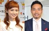 (左から)平愛梨、長友佑都(C)ORICON NewS inc.