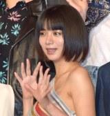 肩出しドレスで魅了した池田エライザ (C)ORICON NewS inc.