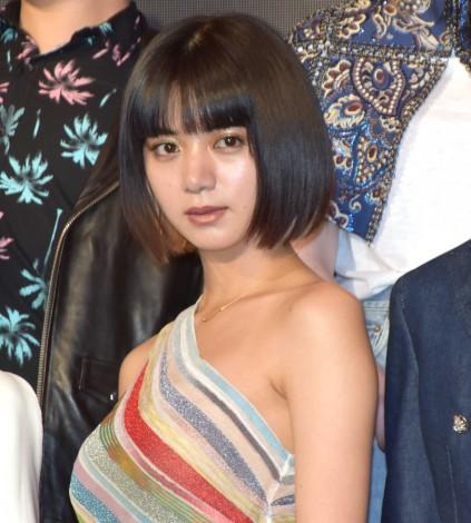 肩出しドレスで魅了した池田エライザ=『Netflixオリジナル作品祭』 (C)ORICON NewS inc.