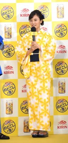 『「キリン のどごし<生>」夏の開幕式〜いざ!ゴクゴクうまい。〜』に出席した小島瑠璃子 (C)ORICON NewS inc.