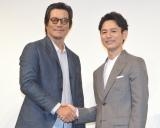 5年ぶり共演でラブラブぶりを発揮した(左から)豊川悦司、妻夫木聡 (C)ORICON NewS inc.