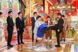 26日放送『衝撃のアノ人に会ってみた!』SPで空手キックを披露する横浜流星 (C)日本テレビ