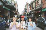 自らも学生時代に合唱経験のあるSHISHAMOの3人が課題曲に込めた熱い思いを語る(C)NHK