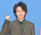 ファンを喜ばせた中村倫也=『第42回帝王賞』前にトークショー (C)ORICON NewS inc.