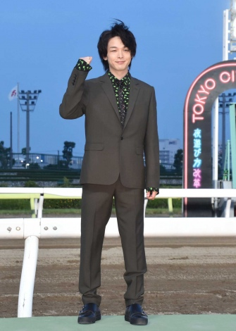 『第42回帝王賞』前にトークショーに出席した中村倫也 (C)ORICON NewS inc.