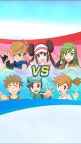 「ポケモンマスターズ」のゲーム画面