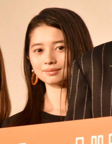 映画『ホットギミック ガールミーツボーイ』初日舞台あいさつに登場した桜田ひより (C)ORICON NewS inc.