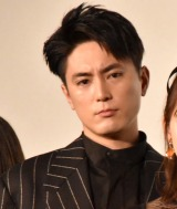 映画『ホットギミック ガールミーツボーイ』初日舞台あいさつに登場した間宮祥太朗 (C)ORICON NewS inc.