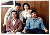 高島忠夫さん、老衰で死去(高島家の家族写真)(C)東宝芸能