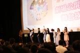 アニメ映画『フレームアームズ・ガール〜きゃっきゃうふふなワンダーランド〜』公開初日舞台あいさつの様子