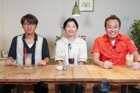 7月7日放送、テレビ東京系『モヤモヤさまぁ〜ず2』代打アシスタントに安藤サクラが登場(C)テレビ東京
