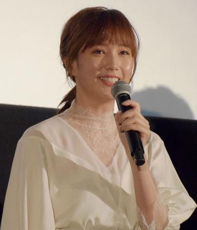 映画『新聞記者』公開記念舞台あいさつに出席した本田翼 (C)ORICON NewS inc.