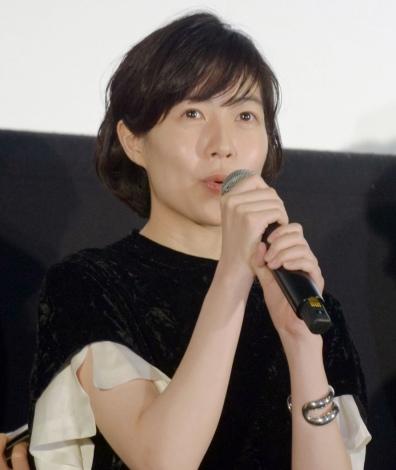 映画『新聞記者』公開記念舞台あいさつに出席したシム・ウンギョン (C)ORICON NewS inc.