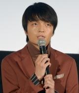 映画『新聞記者』公開記念舞台あいさつに出席した岡山天音 (C)ORICON NewS inc.