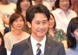 TBS『日曜劇場 ノーサイド・ゲーム』制作発表イベントに出席した大泉洋 (C)ORICON NewS inc.