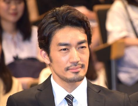 TBS『日曜劇場 ノーサイド・ゲーム』制作発表イベントに出席した大谷亮平 (C)ORICON NewS inc.
